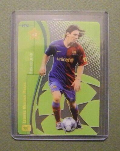 Liga de campeones 2008//2009 Panini muy raros transparentes tarjetas de colección Rare