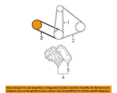 toyota oem-power steering belt 900809108883 | ebay  ebay