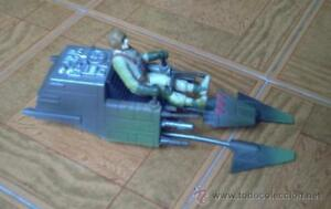Nave-Star-Wars-Speeder-Bike-con-piloto-POTF-2-Power-of-the-Force-Expanded-Univ