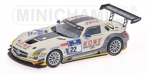 Mercedes Benz Sls amg gt3 Comte 24 H Nurburgring 2012 1 43 Model MINICHAMPS