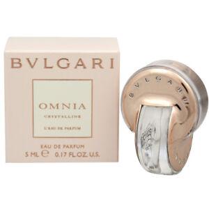 Details about Bvlgari OMNIA Crystalline Mini Perfume EDP 5 ml 0.17 oz