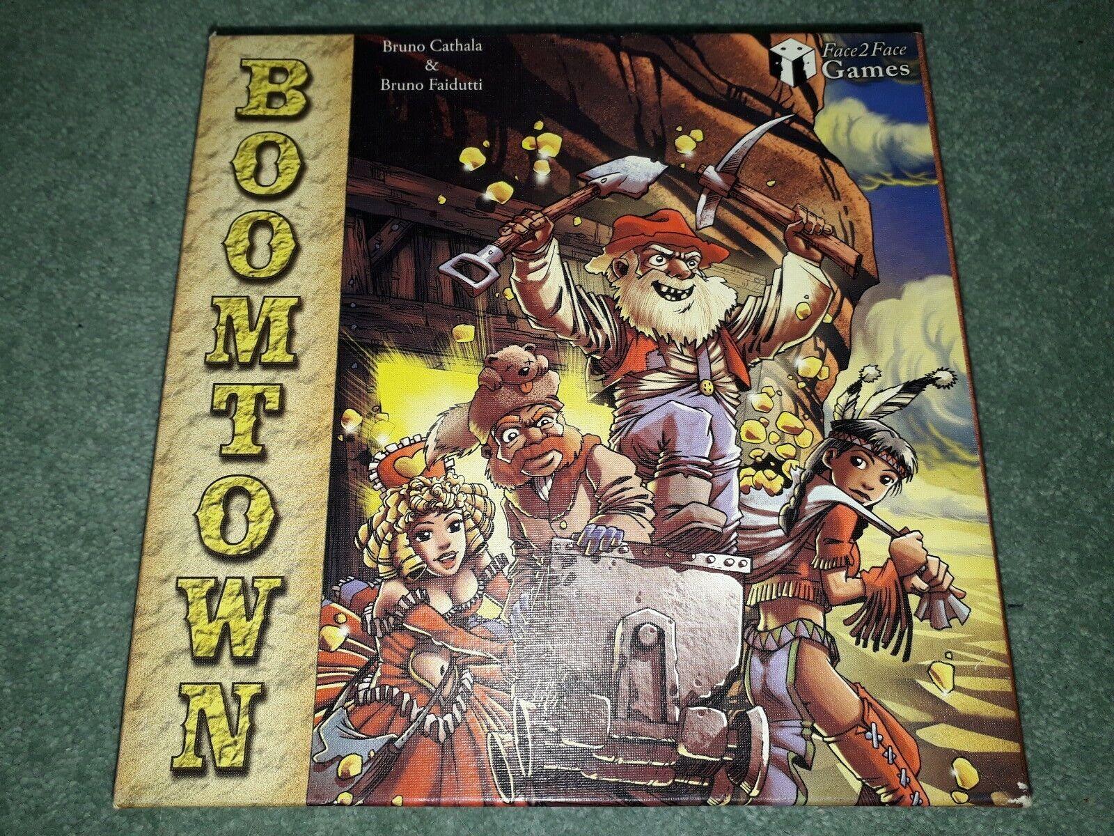 Boomtown Western Prospector oro Rush Juego Juegos Cochea Cochea 2 2004