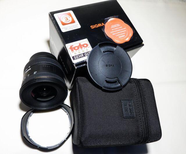 Sigma EX 10-20 mm F/4.0-5.6 EX DC Objektiv