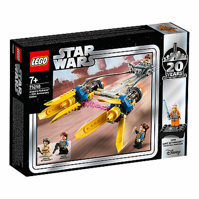 75258 LEGO Star Wars Anakin's Podracer 20th Anniversary Edition 279 pcs Age 7+