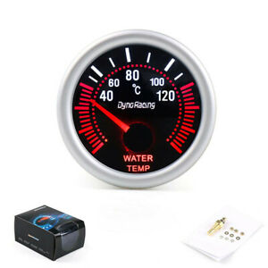 52mm-White-LED-Water-Temperature-Temp-Gauge-Meter-with-Sensor-Smoke-Face-TintKTP