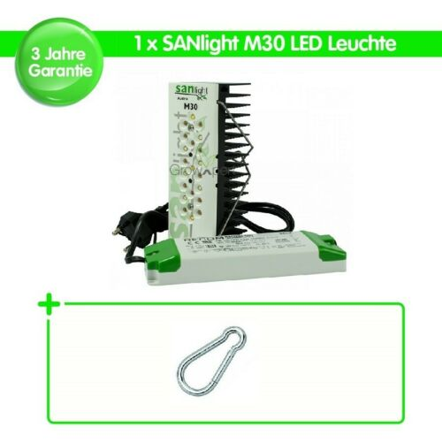1x SANLlight M30 LED Modul 30W SANlight Karabiner