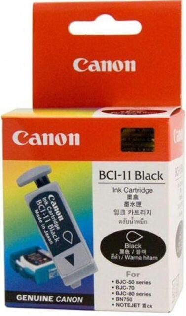 Canon BCI-11 Tinte black für BJC 50 70 80  BN700 BN750 0957A320AA  BCI-11BK