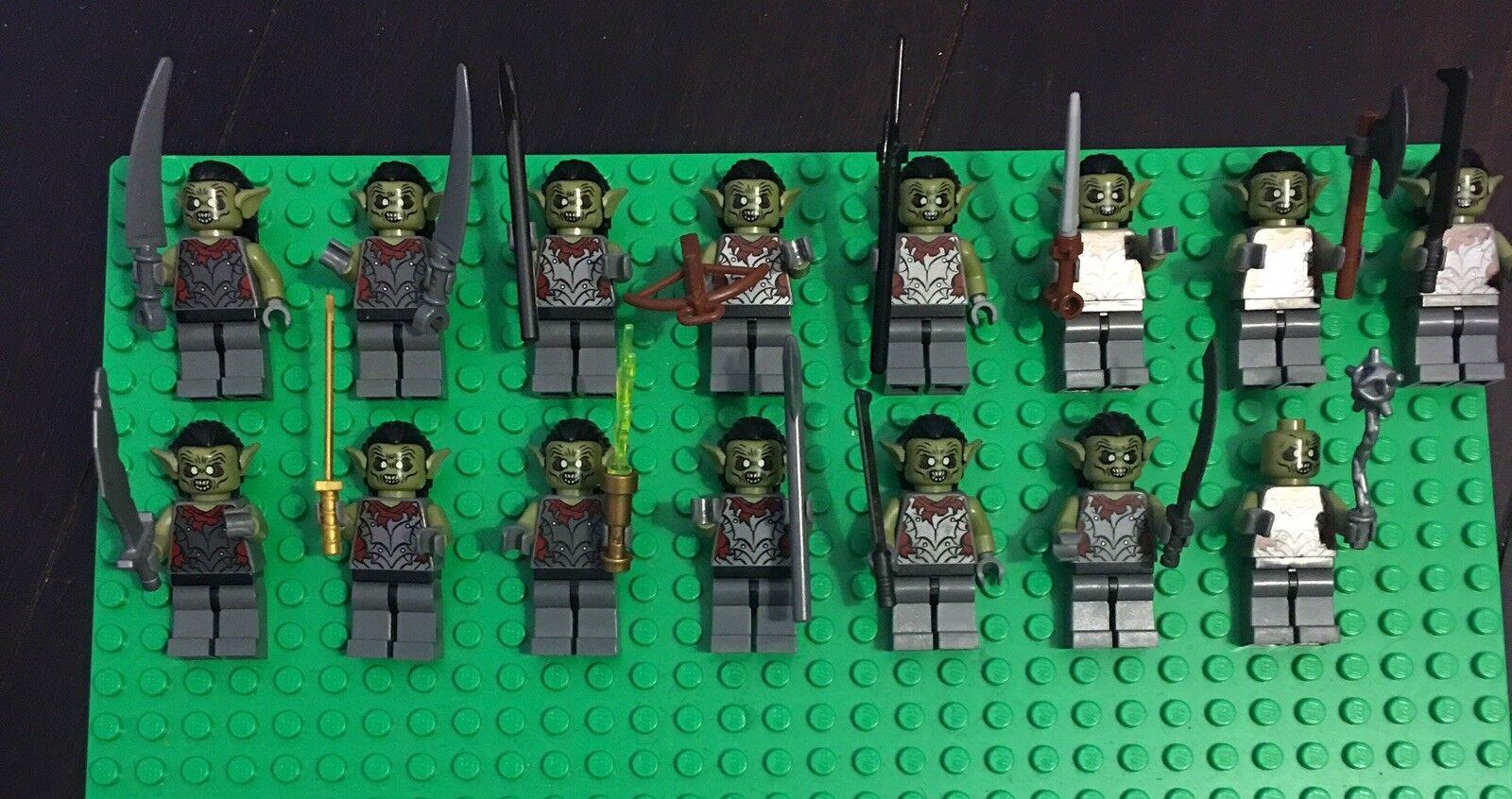 Lego herr der ringe minifigures menge
