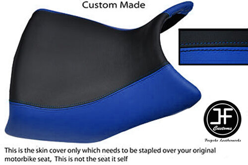 STYLE 2 ROYAL BLUE /& BLACK VINYL CUSTOM FITS BMW F 650 GS 01-07 DUAL SEAT COVER