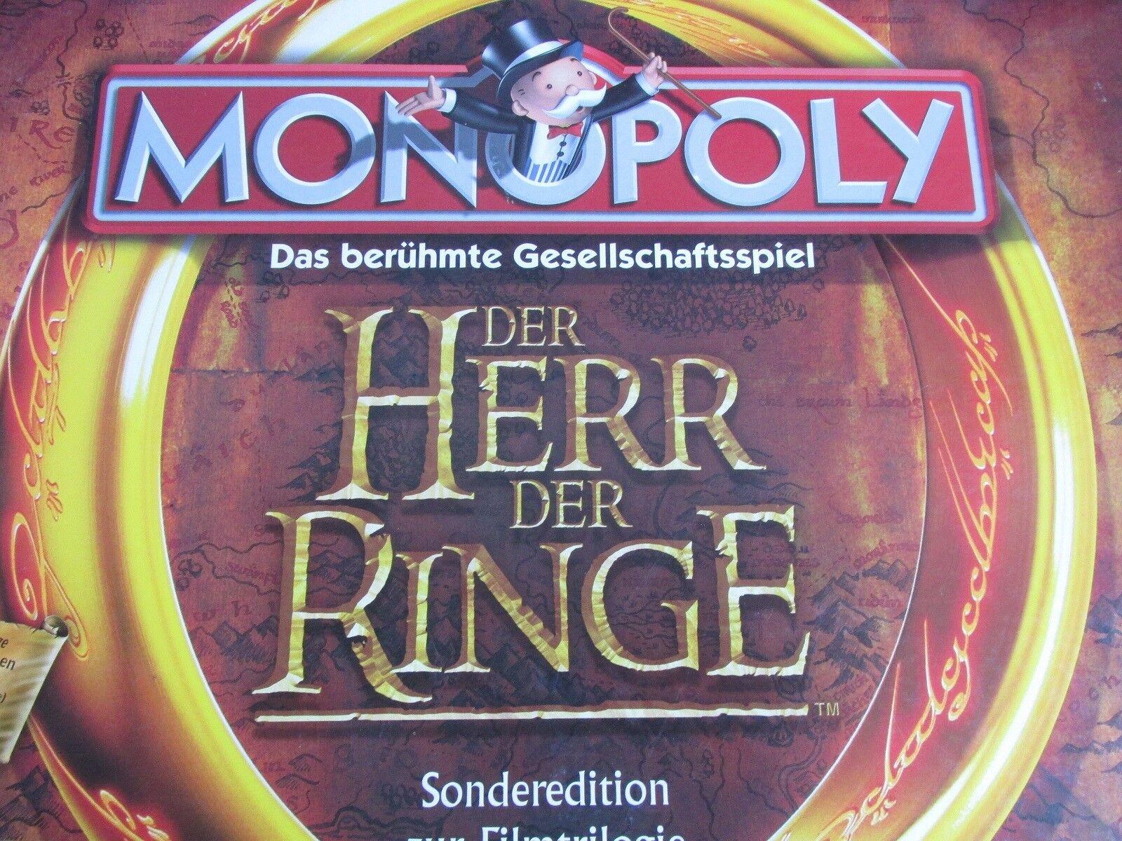MONOPOLY Herr der der der Ringe KOMPLETT SONDErotITION 3deb6c