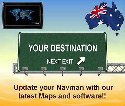 Update your Navman GPS unit with the 2019 australia & NZ maps and software    eBay