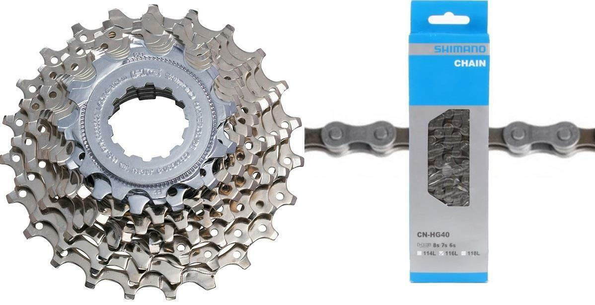 Shimano Acera CS-HG50 8Spd Cassette 11-34t 8-Speed ECSHG508134  + CN-HG40 Chain  best offer