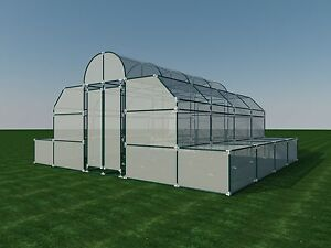 build your own 18 39 x 20 39 pvc greenhouse diy plans fun to