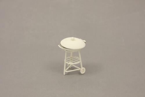 6,3cm weiß Höhe ca Minigarten Grill 44635091212
