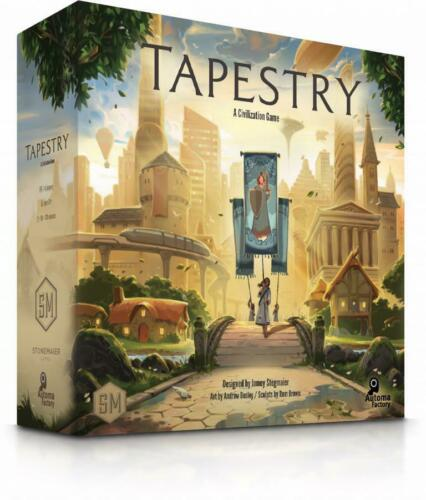 Brand New And Sealed Box A Civilization Game Tapestry