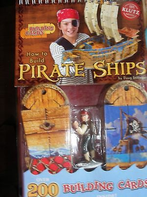 Klutz How To Build Pirate Ships Building Cards Fine Workmanship Educational Toys & Hobbies