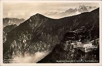 Bad Reichenhall Bayern AK ~1940 Berghotel Predigtstuhl Luftbild Fliegeraufnahme