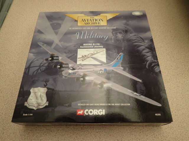 Ltd Edn Corgi  1:144 48205 Boeing B-17G Flying Fortress Sentimental Journey MIB