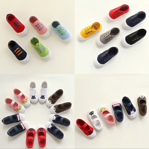 Girls-Boys-Shoes-Kids-Sport-Sneakers-Children-Baby-Toddler-Canvas-Shoes