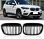 BMW X1 F48 Noir Brillant Avant Kidney Grilles Calandre double Twin Spoke UK 2015