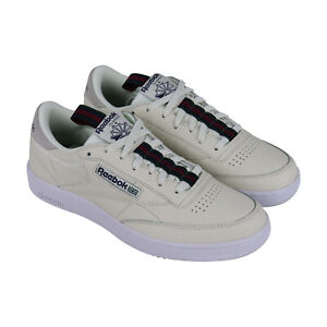 Reebok Club C 85 MU DV3896 Mens Blue Leather Casual Low Top Sneakers Shoes