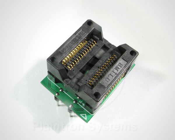 SMD-Programmier-Adapter SO28 SO20 SOIC-28 W  (300mil/7,5mm) DIP Programmer