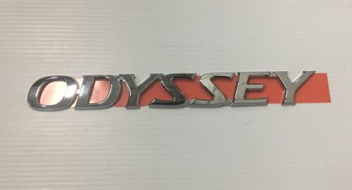 "Genuine OEM Honda 75722-SHJ-A10 /""ODYSSEY/"" Nameplate Emblem 2005-2007 Odyssey"