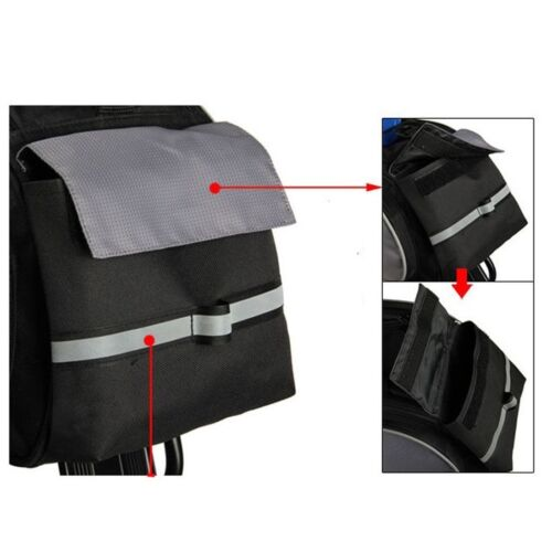 ROSWHEEL Cycling Bicycle Rack Pack Seat Bag Rear Pack Trunk Panniers Bags Stock