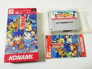 Nintendo Super Famicom Ganbare Goemon 3 Japan 0329A18
