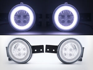 LED-Turn-Signal-Indicator-Halo-Ring-Light-Clear-For-Mini-Cooper-R50-R52-R53-S