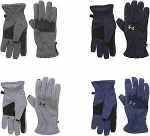 Under-Armour-Men-039-s-Survivor-Fleece-2-0-Gloves-4-Colors