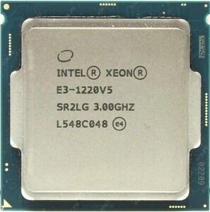 Xeon-E3-1220-V5-SR2CQ-4C-4HT-3-0GHz-8M-L3-80W-TDP-8-0GT-S-LGA1151-Skylake-S