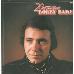 BOBBY-BARE-20-Of-The-Best-LP-VINYL-Germany-Rca-20-Track-Nl89332-Small-Tear-At