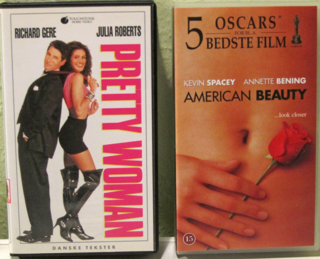 Underholdning, American Beauty og Pretty Woman, To gode…