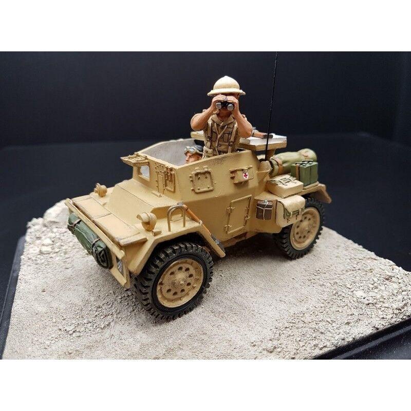KING & COUNTRY-Véhicule léger blindé Néozélandais DINGO, 8th Army, Afrique du no