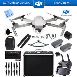 Mavic-Pro-DJI-4K-Camera-Quadcopter-Drone-Active-Track-Avoidance-GPS-2-Batteries