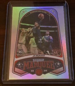 2019-20-Panini-Chronicles-Ja-Morant-Marquee-RC-Rookie-Holo-Grizzlies-ROY