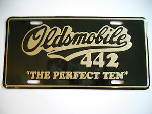New Oldsmobile 442 Front Plate