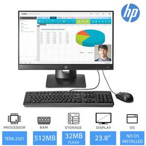 """HP T310 G2 All-in-One PC Tera2321 512MB RAM 32MB Flash 23.8"""" FHD Free DOS"""