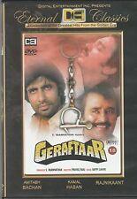 Geraftaar - amitabh bachchan , Rajniikant    [Dvd] 1st Edition  DEI Released