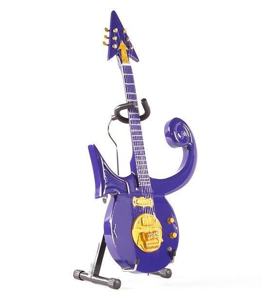 Axe Heaven Prince Purple Symbol Mini Guitar Replica Collectible | eBay