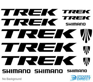 Trek-Decals-Set-of-14-Cycling-Bike-MTB-Stickers-Outdoor-Grade-Vinyl-Any-Colour