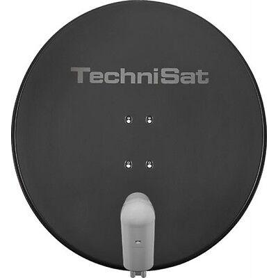 TechniSat SATMAN 850 Plus SAT Spiegel mit UNYSAT Quattro Switch LNB grau