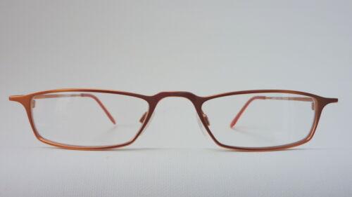 metallo mezza occhiali lettura Nuovo con molla in occhiali marrone a da a opaco senza Sizem montatura rata 1 per 3 4q6vgg