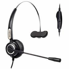 H450 headset with QD-to-2.5mm plug for Cisco SPA303 501 502 921 922 941 942 962