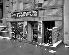8x10 Print NYC Street Scene 513 E 79th Known as Stopping by Deli #SS3