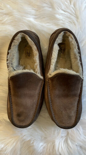 ugg mens suede slippers