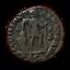 4038-RARE-Nummus-Valentinianus-I-GLORIA-FACTURE miniature 1