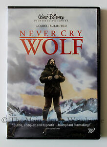Never-Cry-Wolf-Biologist-Wolves-Caribou-Wilderness-Arctic-Nature-Movie-on-DVD