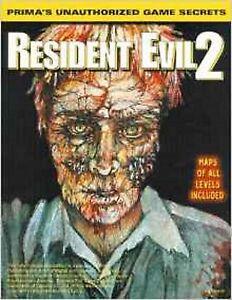 Resident Evil 2 Prima's Strategy Guide Non Autorisée, Game Secrets-afficher Le Titre D'origine